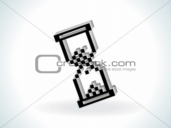 abstract cursor icon