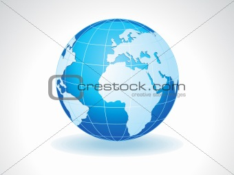 abstract detailed shiny globe