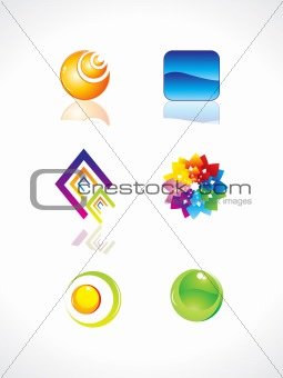 abstract design elements vector illustration