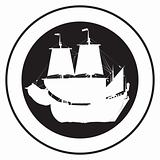 Emblem of an old ship 2