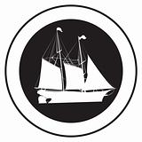 Emblem of an old ship 3