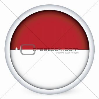 Monaco flag button