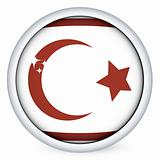 Northen Cyprus flag button