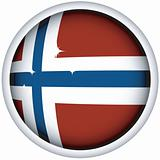 Norvegian flag button