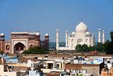 Taj Mahal South Entrance Neighborhood