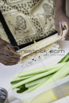 african sushi chef