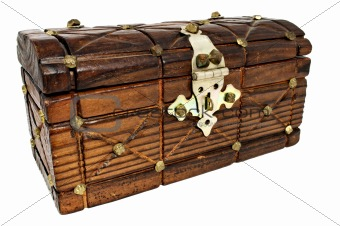 Closed treasure chest