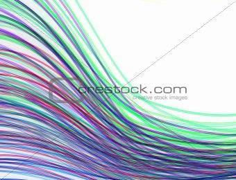 Waved background