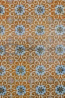 Portuguese glazed tiles 190