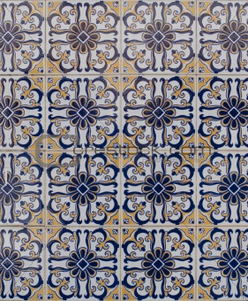 Portuguese glazed tiles 194