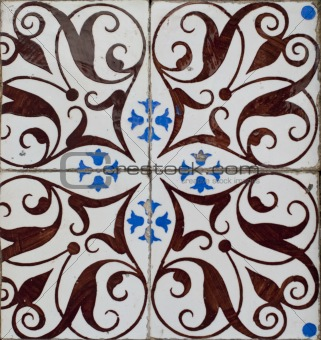 Portuguese glazed tiles 199