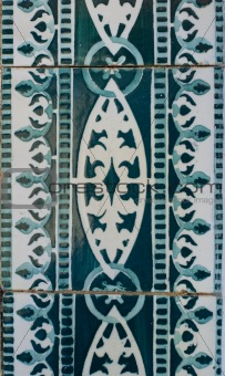 Portuguese glazed tiles 203