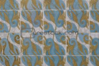 Portuguese glazed tiles 204