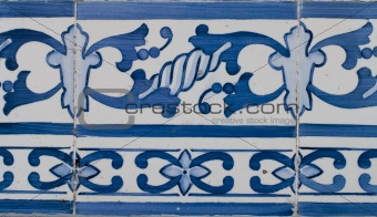 Portuguese glazed tiles 211