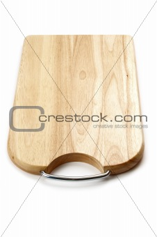cutting board isolated on a white background