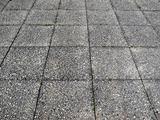 Concrete sidewalk pavement