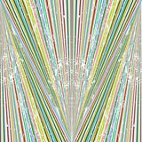 Abstract background with colored stripes