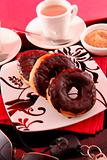 Crank up your day with donuts and coffee