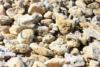 A Pile of Beach Stone