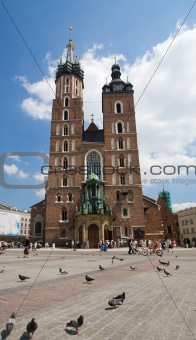 Church Mariacki in Cracow, Poland