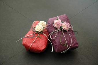 Gift in Purple and Pink