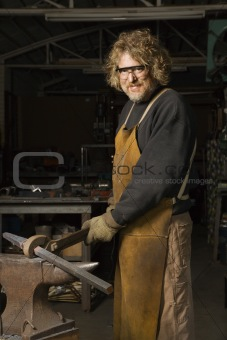 Metalsmith portrait.