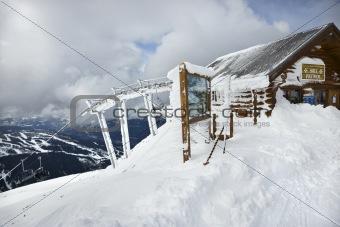 Ski patrol office