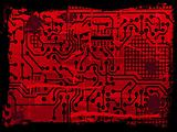 Grunge Circuit Board effect
