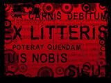 Latin Text Grunge Background 2
