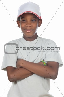 adorable African boy