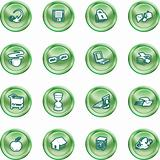 Web and Computing icons.