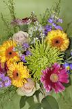 June bouquet of colors