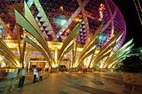 Entrance of casino in Macau