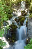 Timelapse Swiss waterfall