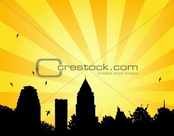 City park sun