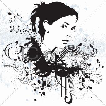 Grunge Girl