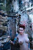 Sexy nude woman.