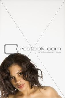 Portrait of woman.