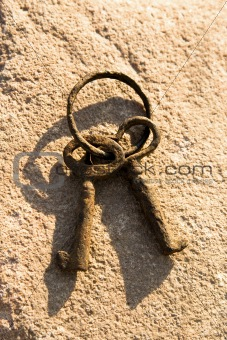 Antique Rusty Keys