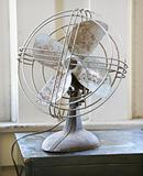 Retro style fan.