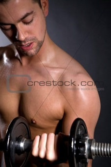 Biceps training