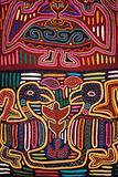 Colorful textile design.