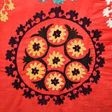 Asian textile pattern.