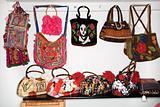 Unique handbags.