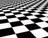 balck and white tils