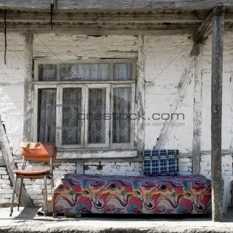 old terrace