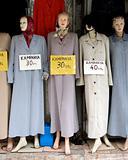 old mannequins