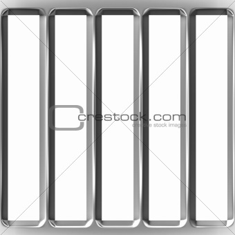 3D Cage Bars