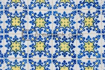 Portuguese glazed tiles 154