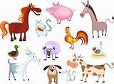new farm animal set